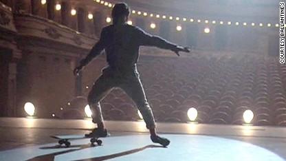 'Michael Jackson of skateboarding'