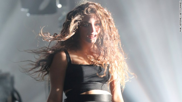 Lorde captivated the crowd in Dunedin, New Zealand, on October 29.