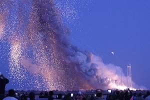 La explosión del Antares
