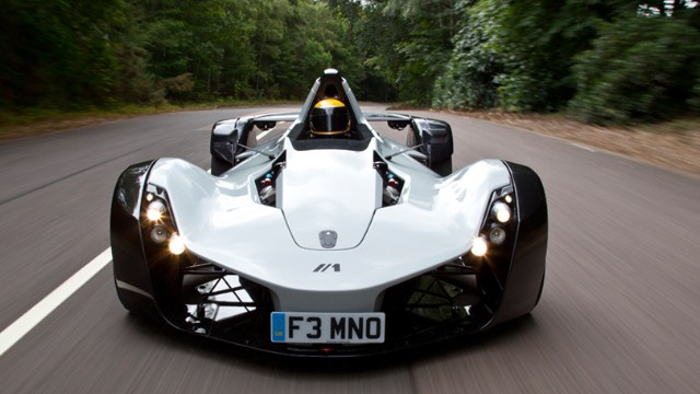 This street legal supercar is to carry a highly unusual feature...