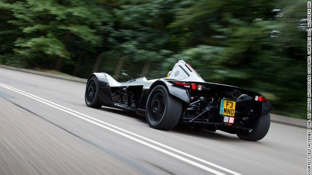 The rear wing features self-assembling technology that adapts to the environment.