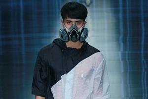 Máscaras de smog con estilo