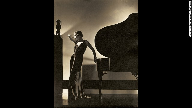 This portrait of Model Margaret Horan, which appeared in Vogue on November 1, 1935, shows Steichen's dramatic eye for light and shade.
