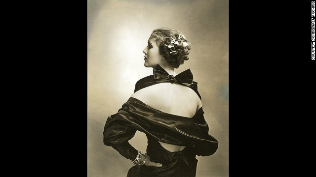 Steichen was asked to photograph fashion, but he had little interest in clothes and approached it as a portrait photographer. This is the actress Mary Heberden in Vogue, March 15, 1935.