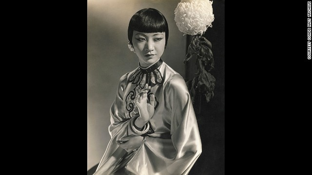 The actress Anna May Wong, pictured by Steichen in 1930.