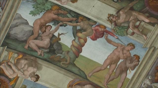 Una nueva luz resaltará la obra de Miguel Ángel en la Capilla Sixtina