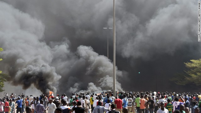 Photos: Unrest in Burkina Faso