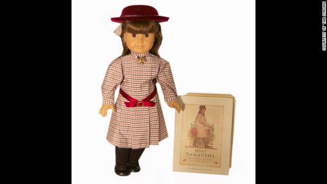 American Girl dolls were introduced in 1986 to tell the story of a social and cultural period in America's past. Each of the 18-inch dolls is paired with a series of books that tells the story of her life in different time periods, from colonial America to World War II. The Pleasant Company also makes My American Girl Dolls, which can be designed to look like their owners.<!-- --> </br>