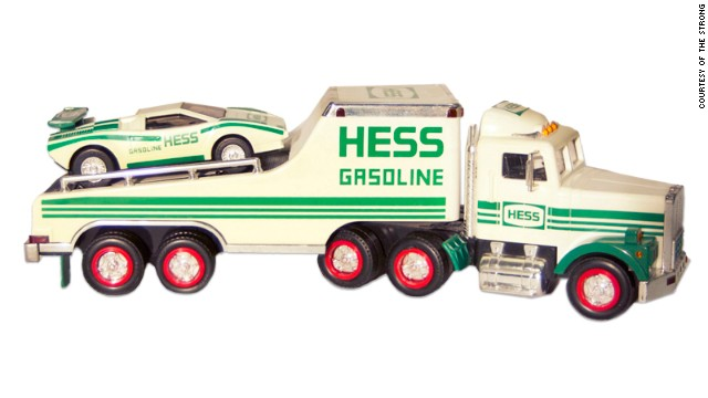 "Hess toy trucks have been around since 1964, and are perennial holiday favorites. The vehicles are competing for a spot in the National Toy Hall of Fame at The Strong, an educational institution devoted to the study and exploration of play in Rochester, New York. The nonprofit claims to house ""the world's most comprehensive collection of historical materials related to play."""