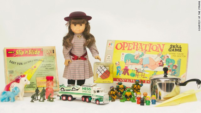 The National Toy Hall of Fame has announced three new inductees into its collection. Click through the gallery to see this year's finalists -- and which playthings received top honors.
