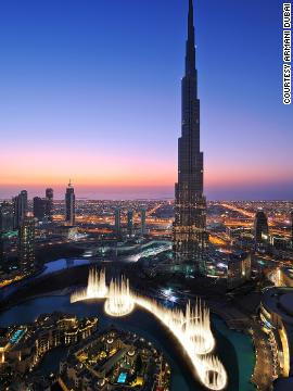 Fuente de Dubái (Emiratos Árabes Unidos)