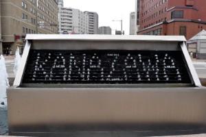 Fuente Reloj de Kanazawa (Japón)