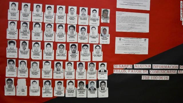 """""""No podemos garantizar nada sobre la situación de los 43 normalistas"""", dice la PGR"""