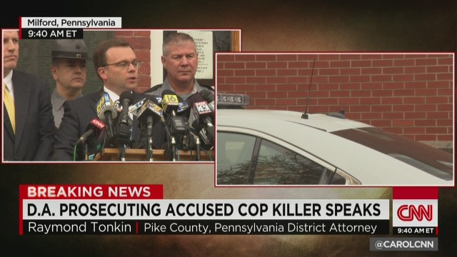 Alleged Pennsylvania cop killer charged with terrorism - CNN.com