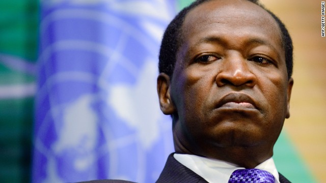 Burkina Faso President resigns; military now in charge