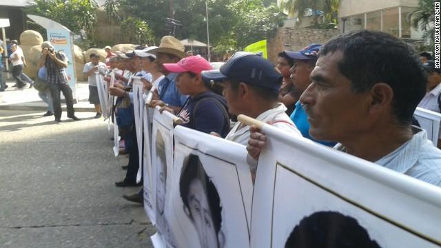 Protesta en Acapulco