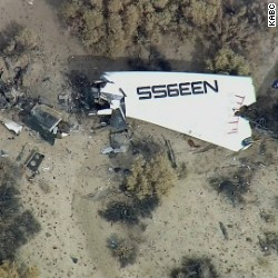 SpaceShipTwo a 'loss' after anomaly during test flight