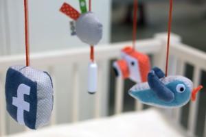 Medios sociales para bebés