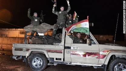 Kurdish fighters join Kobani fight