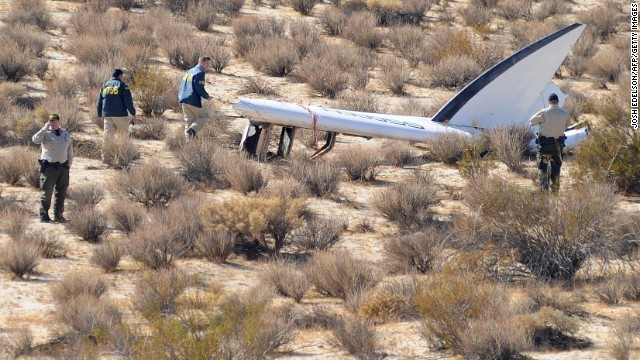 The October explosion of Virgin Galactic's SpaceShipTwo during a test flight killed one pilot, injured another and shook the private space industry by contributing to questions about its near-term viability.