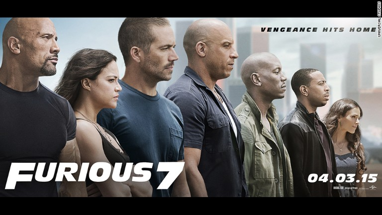 'Furious 7' is a different kind of race film