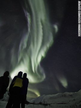 """These are the very best <a href='http://ireport.cnn.com/docs/DOC-1071914'>Northern Lights</a> I have seen in my whole life (and I see them very often),"" said Francisco Damm, who runs the Tromso, Norway, branch of the <a href='http://www.arcticguideservice.com/' target='_blank'>Arctic Guide Service</a>."