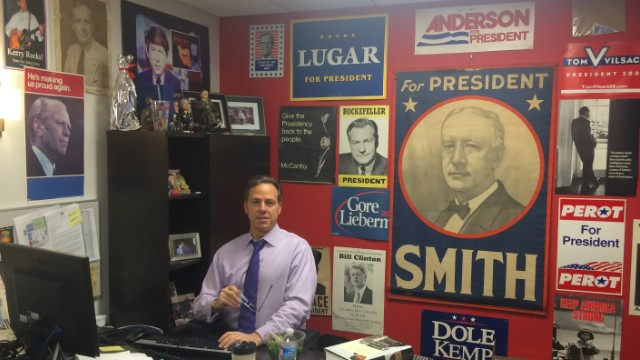 Twitter Q & A: CNN's Jake Tapper answers your midterm election questions