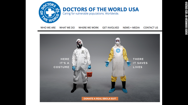 Martha Pease says an ad campaign by a nonprofit is one way to destigmatize Ebola.