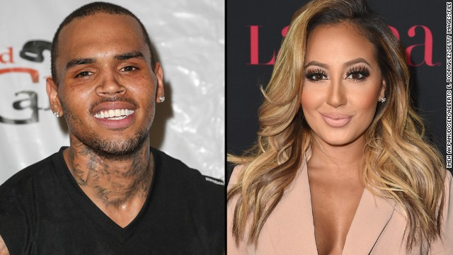 "When Chris Brown learned what ""The Real"" co-hosts Adrienne Bailon and Tamar Braxton had to say about his relationship with Karrueche Tran, the singer defended his girlfriend in a social media tirade. Among other things, Brown criticized Bailon as being an ""ole trout mouth"" and labeled Braxton as ""Muppet Face."""