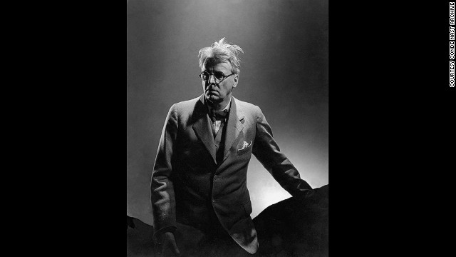 This picture of the poet William Butler Yeats, which appeared in Vanity Fair on January 1,1933, shows Steichen's remarkable ability to capture a person's character.