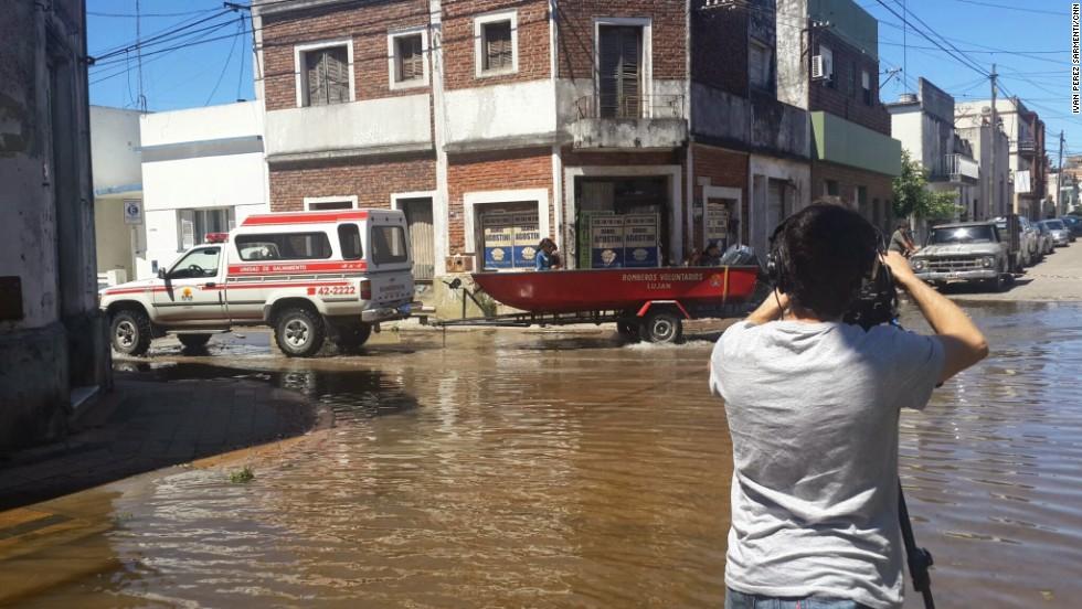 Inundaciones en Buenos Aires