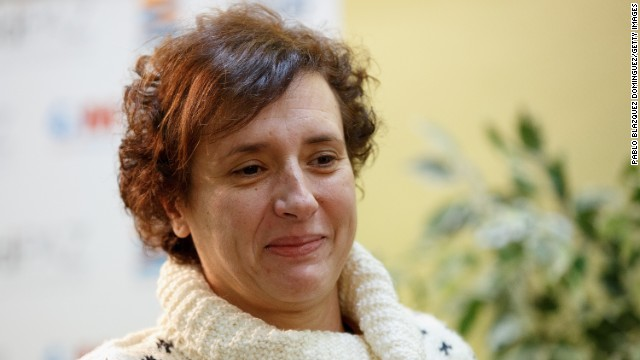 A nurse's assistant, Teresa Romero Ramos, tested positive for Ebola after treating a Spanish missionary in Madrid. Her case was the first recorded transmission of Ebola outside of West Africa for this particular outbreak. She was treated and later declared Ebola-free.