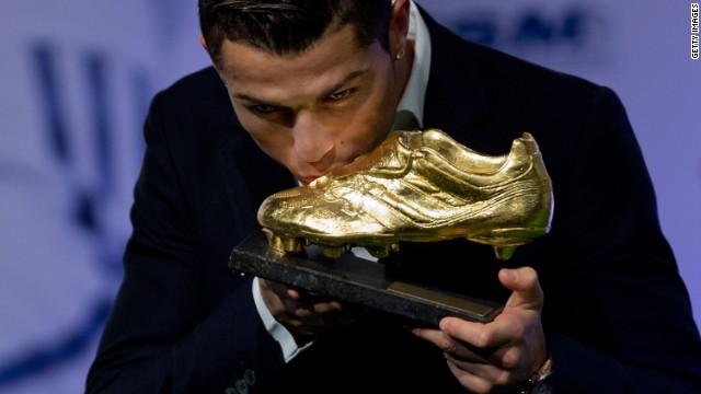 Cristiano Ronaldo gana su tercera Bota de Oro