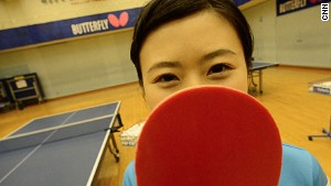 Cry baby to ping pong queen