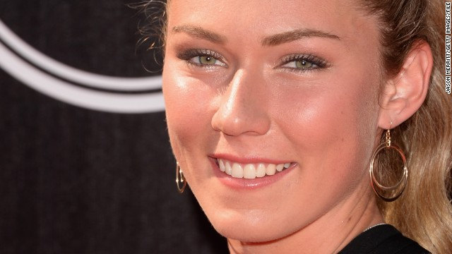Mikaela Shiffrin was also at the ESPYS awards in Los Angeles in July.