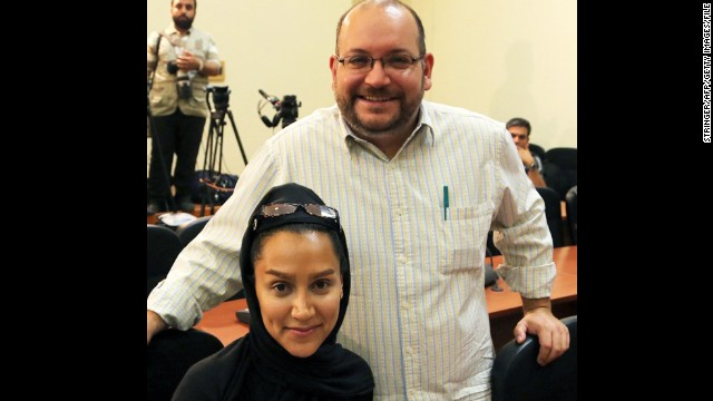 Washington Post Tehran Bureau Chief <a href='http://www.cnn.com/2014/10/06/world/meast/iran-journalist-released/' target='_blank'><strong>Jason Rezaian</strong> </a>remains behind bars after being detained in Iran with his wife, Iranian journalist Yeganeh Salehi, in July under unclear circumstances. Salehi was released on bail in late October, according to The Post.