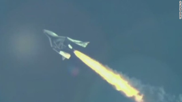 Virgin Galactic crash: co-pilot unlocked braking system
