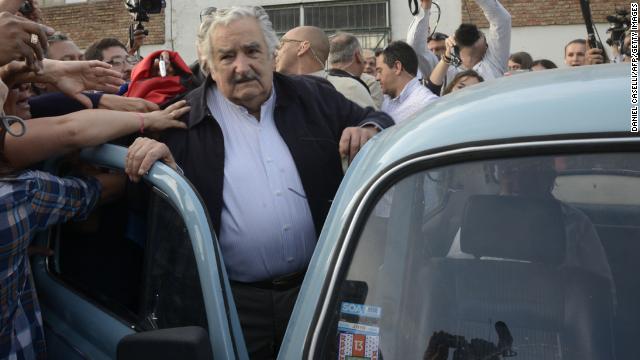 'Pepe' Mujica recibe millonarias ofertas por su Volkswagen de 1987