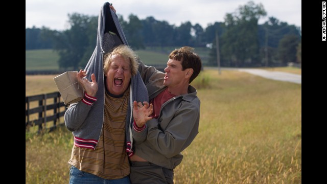 "Twenty years after Jim Carrey and Jeff Daniels starred in ""Dumb and Dumber,"" the duo are back with ""Dumb and Dumber To"" (yes, the typo is intentional). According to critics, this one may not hold up, but it was certainly a box office hit"