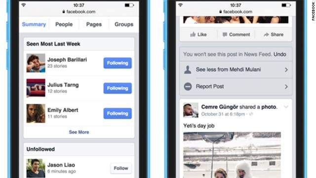 Facebook te ayudará a ignorar a tus amigos y páginas más aburridos