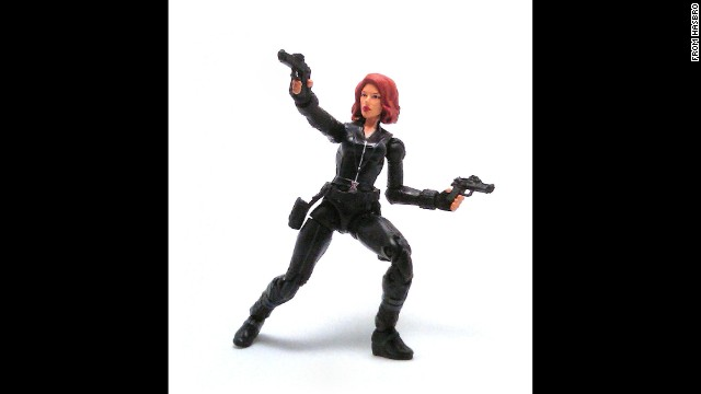 "Marvel Comics' Black Widow is the alter ego of the Russian femme fatale Natalia ""Natasha"" Romanova. A ballerina when she's not working as a secret operative, her black unitard comes in handy for the character's acrobatic moves."