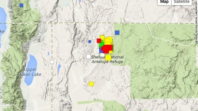 Cientos de temblores sísmicos agitan Nevada sin cesar desde julio