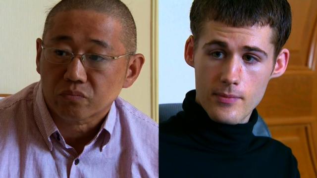 Los estadounidenses detenidos en Corea del Norte, Kenneth Bae y Matthew Todd Miller, autorizados para dejar el país