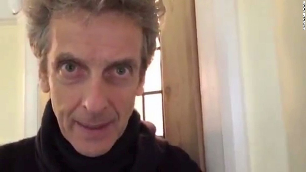 "Peter Capaldi, who plays the 12th incarnation of Doctor Who, sent a video message to a 9-year-old fan grieving the loss of his grandmother. ""... You should know that we're on your side. So you look after yourself, take care and be happy."""