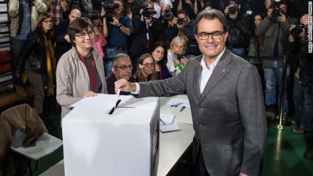 Cataluña celebró votación independentista simbólica