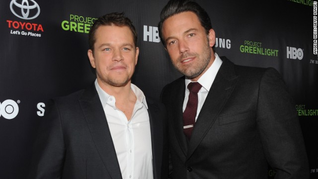 "Matt Damon and Ben Affleck are the poster boys of bromance. In fact, when Affleck was cast as Batman, there were jokes about <a href='http://marquee.blogs.cnn.com/2013/08/28/matt-damon-is-not-playing-robin-to-ben-afflecks-batman/'>Damon playing Robin</a>. After their Oscar-winning script for ""Good Will Hunting,"" the pair continued to work together in movies like ""Dogma."" Now they have teamed up again for Syfy thriller ""Incorporated."" See more of our favorite male besties ..."