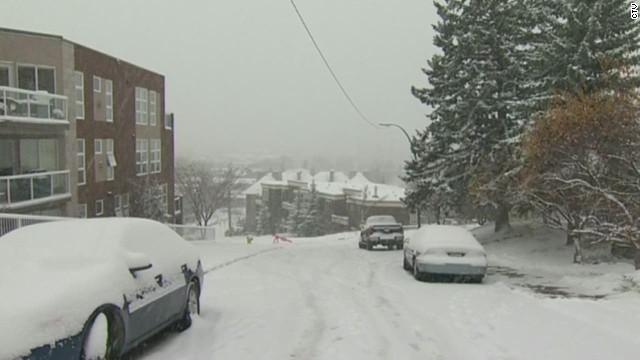 ¿Temprana ola de frío ártica en EE.UU. es extra peligrosa?