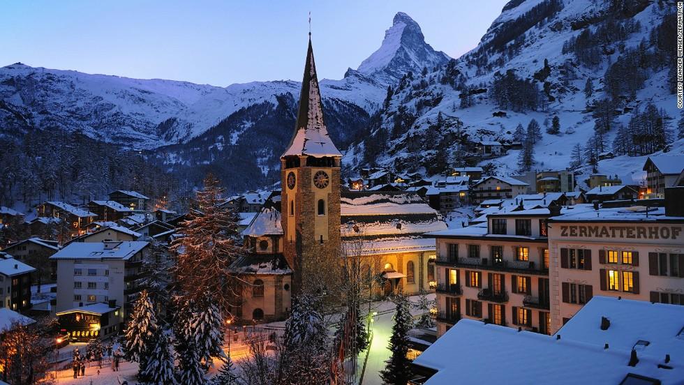 3. Zermatt (Suiza)