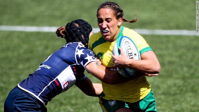 After Sochi 2014, Meyers Taylor took up rugby sevens and spent the summer playing in two major tournaments for the U.S. women's team. She hopes to return to rugby in the future -- possibly at Rio 2016, where the discipline will make its Olympic debut.