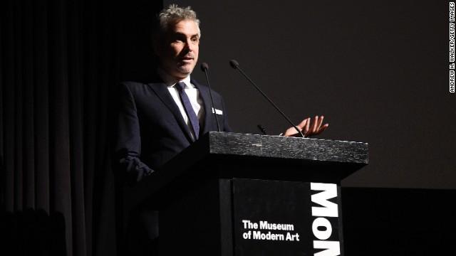 Alfonso Cuarón clama en Nueva York por los 43 estudiantes desaparecidos